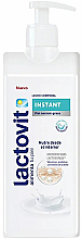 Düfte, Parfümerie und Kosmetik Feuchtigkeitsspendende Körpermilch mit Vitaminen, Proteinen und Mineralien - Lactovit Instant Body Milk