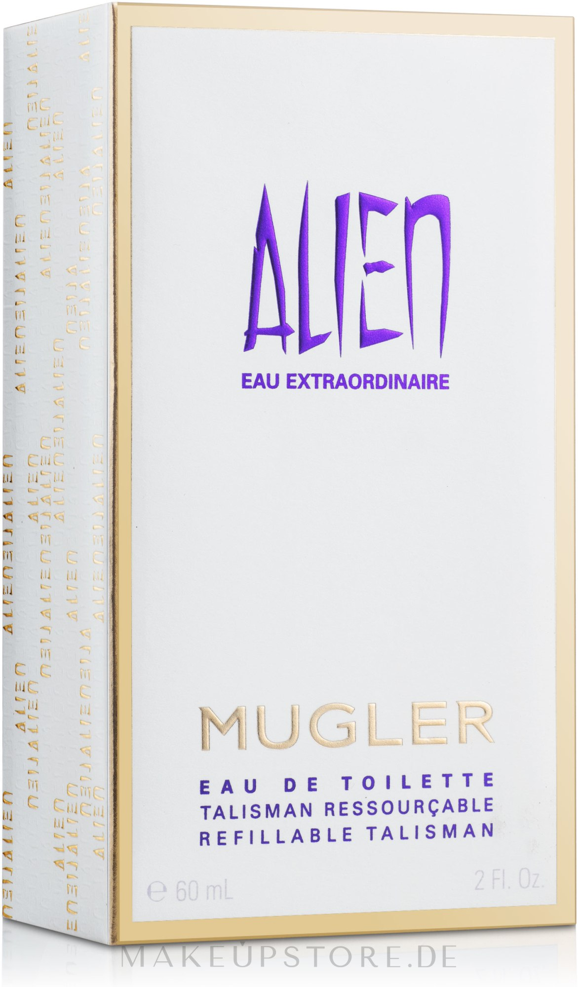 Mugler Alien Eau Extraordinaire The Refillable Stones - Eau de Toilette (3 x Nachfüllung)  — Bild 60 ml