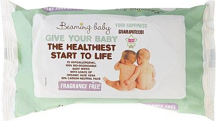 Bio-Feuchttücher für Neugeborene - Beaming Baby Organic Baby Wipes — Bild N2