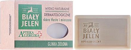 Dermatologische Seife mit grünem Lehm - Bialy Jelen Apteka Alergika Soap — Bild N1