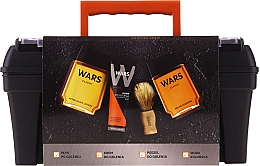 Düfte, Parfümerie und Kosmetik Duftset - Wars (After Shave Lotion 90ml + Rasierschaum 65ml + Eau De Cologne 90ml + Rasierpinsel + Kosmetikkoffer)