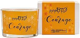 Düfte, Parfümerie und Kosmetik Bio-Duftkerze Courage - PuroBio Home Organic Courage