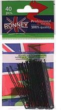 Düfte, Parfümerie und Kosmetik Haarnadeln schwarz 65 mm 40 St. - Ronney Black Small Set Of Hair Pins