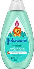 Düfte, Parfümerie und Kosmetik Shampoo für Kinder - Johnson's® Baby No More Tangles Shampoo