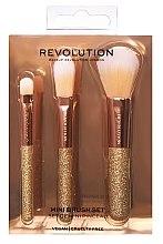 Düfte, Parfümerie und Kosmetik Make-up Pinselset 3 St. - Makeup Revolution London Brushes Mini Brush Set