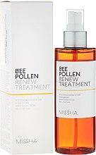 Düfte, Parfümerie und Kosmetik Zellregenerierendes Gesichtstonikum mit Blütenpollenextrakt für sensible Haut - Missha Bee Pollen Renew Treatment