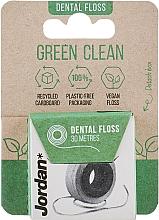 Düfte, Parfümerie und Kosmetik Zahnseide 30 m - Jordan Green Clean Dental Floss
