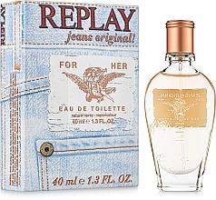Replay Replay Jeans Original For Her - Eau de Toilette — Bild N2