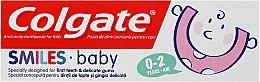 Düfte, Parfümerie und Kosmetik Kinderzahnpasta 0-2 Jahre Smiles Baby - Colgate Smiles Baby 0-2 Toothpaste