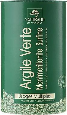 Kosmetische grüne Tonerde - Naturado Green Clay — Bild N1