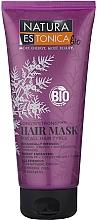 Düfte, Parfümerie und Kosmetik Haarmaske mit Bio-Wacholder, Arganöl und Senf - Natura Estonica Long'n'Strong Hair Mask