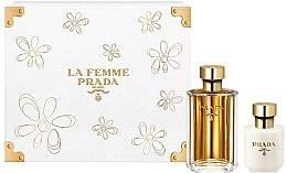 Düfte, Parfümerie und Kosmetik Prada La Femme Prada - Duftset (Eau de Parfum/100ml + Körperlotion/100ml)