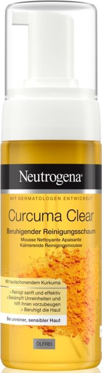 Beruhigender Gesichtsreinigungsschaum mit Kurkuma - Neutrogena Curcuma Clear Mousse Clenser