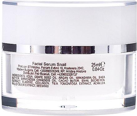 Verjüngendes Gesichtsserum mit Schneckenextrakt - Hristina Cosmetics Orient Snail Face Serum — Bild N2