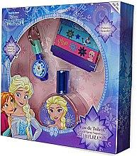 Düfte, Parfümerie und Kosmetik Air-Val International Disney Frozen - Kinderset (Eau de Toilette 30ml+Schlüsselanhänger+Armband 2 St.)