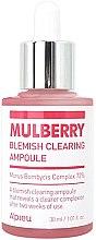 Düfte, Parfümerie und Kosmetik Bleichendes und feuchtigkeitsspendendes Gesichtsserum gegen Sommersprossen und Pigmentflecken - A'pieu Mulberry Blemish Clearing Ampoule