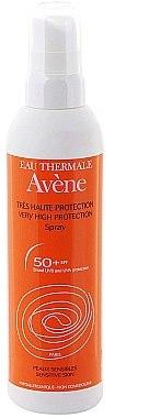 Sonnenschutzspray für Körper und Gesicht SPF 50+ - Avene Solaires Spray SPF 50+ — Bild N1