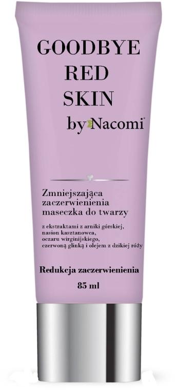 Beruhigende Gesichtsmaske gegen Rötungen - Nacomi Goodbye Red Skin Mask