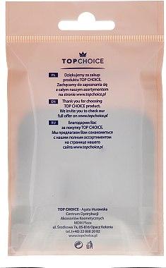 Doppelseitiger Taschenspiegel schwarz 5541 - Top Choice — Bild N2