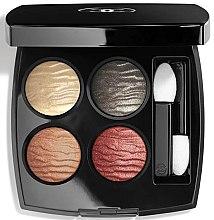 Düfte, Parfümerie und Kosmetik Lidschattenpalette - Chanel Eclat Enigmatique Exclusive Creation Quadra Eyeshadow