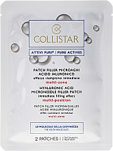 Anti-Falten Gesichtspatches mit Hyaluronsäure - Collistar Lift HD Hyaluronic Acid Microneedle Filler Patch — Bild N2