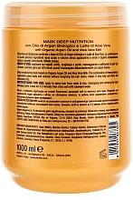 Tief pflegende Haarmaske mit Arganöl und Aloe Vera - Brelil Bio Traitement Cristalli d'Argan Mask Deep Nutrition — Bild N2