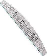 Düfte, Parfümerie und Kosmetik Doppelseitige Nagelfeile 180/180 Zebra - Peggy Sage 2-way Half-Moon Medium Washable Nail File