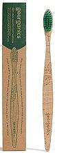 Bambuszahnbürste mittel - Georganics Bamboo Medium Toothbrush Green — Bild N1