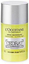 Düfte, Parfümerie und Kosmetik Deostick - L'Occitane Cedrat Stick Deodorant