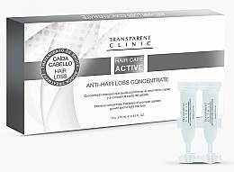 Düfte, Parfümerie und Kosmetik Aktives Anti-Haarausfall-Konzentrat - Transparent Clinic Hair Care Active Anti-Hair Loss Concentrate