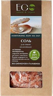 Feuchtigkeitsspendendes Badesalz - ECO Laboratorie Moisturizing Bath Sea Salt — Bild N1