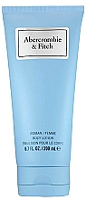 Düfte, Parfümerie und Kosmetik Abercrombie & Fitch First Instinct Blue Women - Körperlotion für Damen