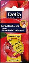 """Düfte, Parfümerie und Kosmetik Lippenbalsam """"Saftige Mango"""" mit Argan mit Arganöl und Vitamin E - Delia Extreme Care Lip Butter With Argan Oil+Vitamin E"""