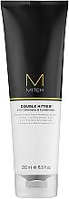 Düfte, Parfümerie und Kosmetik Shampoo & Duschgel 2in1 - Paul Mitchell Mitch Double Hitter 2in1Shampoo & Conditioner
