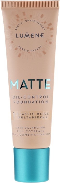 Mattierende Foundation - Lumene Matte Oil-control Foundation — Bild N1