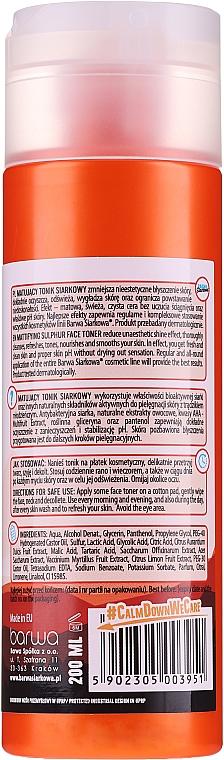 Antibakterielles Anti-Akne Gesichtstonikum - Barwa Anti-Acne Sulfuric Tonik — Bild N2