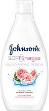 Düfte, Parfümerie und Kosmetik Aufweichendes und energetisierendes Duschgel mit Wassermelonen- und Rosenduft - Johnson's® Soft & Energise Shower Gel