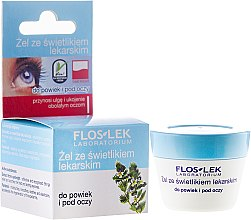 Düfte, Parfümerie und Kosmetik Augenkonturgel mit Augentrost - Floslek Lid And Under Eye Gel With Eyebright