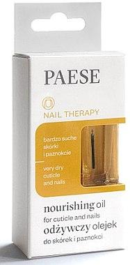 Feuchtigkeitsspendendes Öl für Nägel und Nagelhaut - Paese Nail Therapy Nourishing Oil — Bild N1