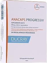 Düfte, Parfümerie und Kosmetik Nahrungsergänzungsmittel Anacaps Progressiv gegen Haarausfall - Ducray Anacaps Progressiv Anti Chute Capsule