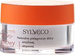 Gesichtscreme mit Betulin, Birken- und Sanddornextrakt für empfindliche, trockene und neurodermische Haut - Sylveco Hypoallergic Birch Day And Night Cream — Bild N2