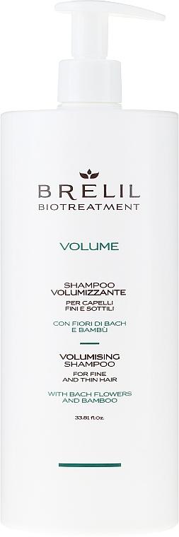 Shampoo für Haarvolumen mit Bachblüten und Bambus - Brelil Bio Treatment Volume Shampoo — Bild N3