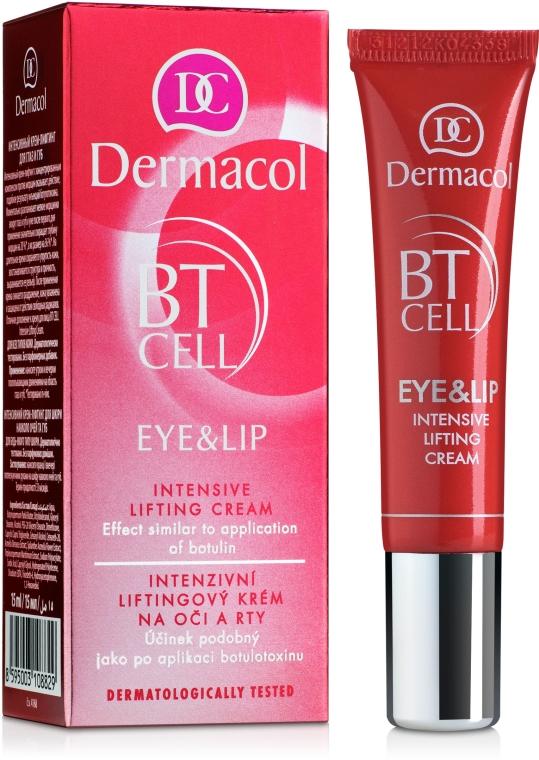Intensive Lifting-Creme für Augenpartie und Lippen - Dermacol BT Cell Eye&Lip Intensive Lifting Cream — Bild N1