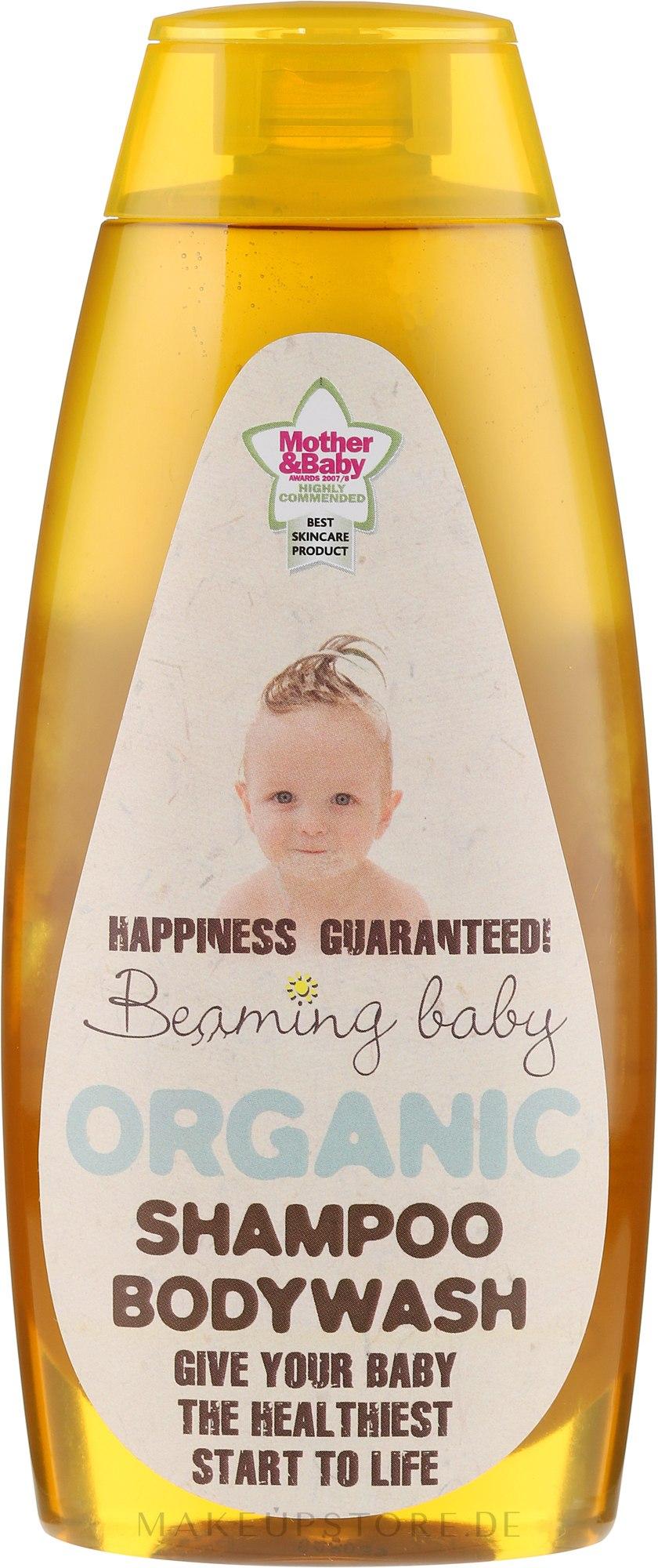 Beaming Baby Shampoo & Bodywash - 2in1 Hypoallergenes Shampoo und Duschgel für Babys — Bild 250 ml