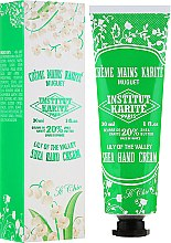 "Handcreme mit Sheabutter ""So Chic"" - Institut Karite So Chic Hand Cream Lily Of The Valley — Bild N1"