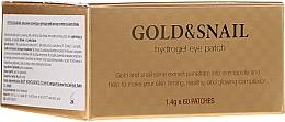 Düfte, Parfümerie und Kosmetik Hydrogel-Augenpatsches mit Gold und Schneckenschleim-Extrakt - Petitfee & Koelf Gold & Snail Hydrogel Eye Patch