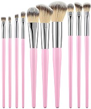 Düfte, Parfümerie und Kosmetik Make-up Pinsel-Set rosa 10 St. - Tools For Beauty