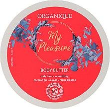 Düfte, Parfümerie und Kosmetik Pflegende und glättende Körperbutter mit Ginseng-Extrakt, Ginkgo Biloba und Kokosöl - Organique My Pleasure Body Butter