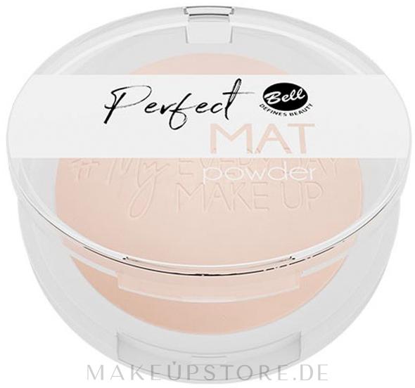 Mattierender Gesichtspuder - Bell Perfect Mat Powder — Bild 01 - Neutral Light