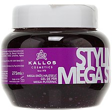 Düfte, Parfümerie und Kosmetik Haargel Mega starker Halt - Kallos Cosmetics Styling Gel Mega Strong